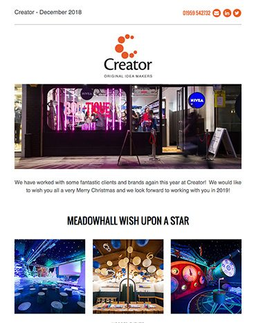 Creator Newsletter December 2018