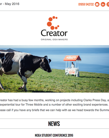 Creator Newsletter May 2016